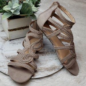 🚨NEW LIST Lauren Conrad Braided Gladiator Sandals